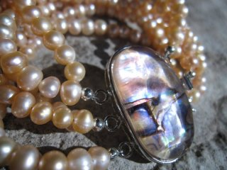 Abalone Shell and Pearl - Nina Spade