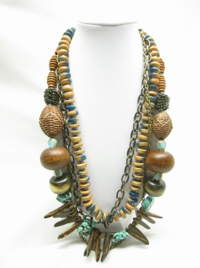 Boho Necklace - Nina Spade