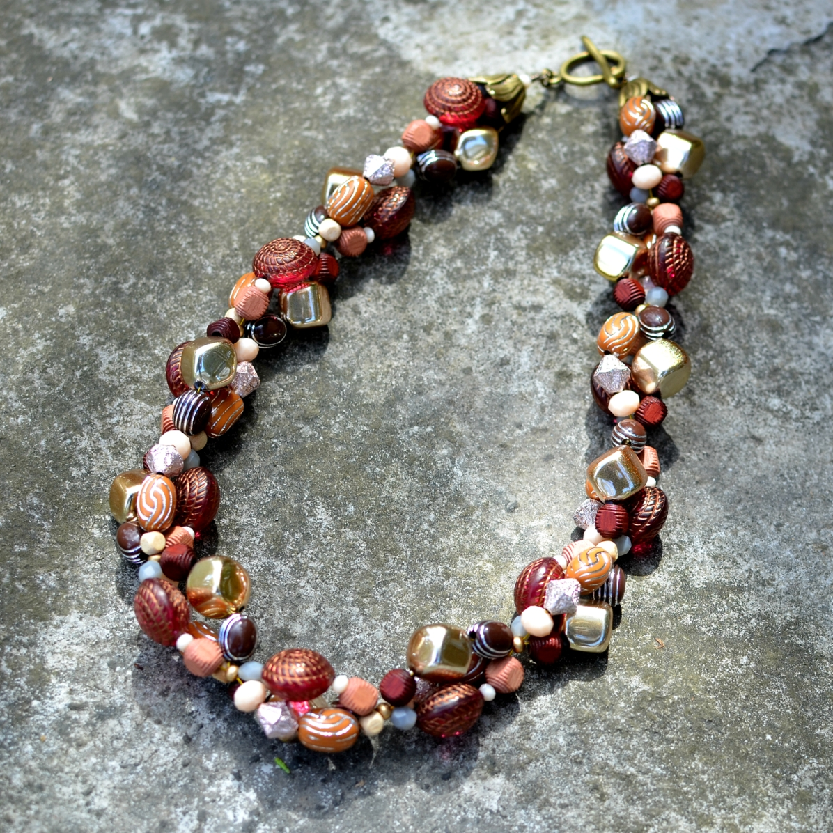 Chunky Spring Necklace