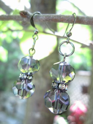 Delicate Crystal Earrings - Nina Spade