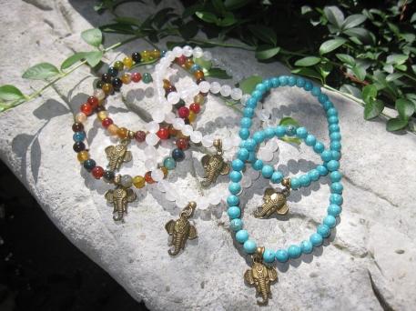 Elephant Gem Bracelets