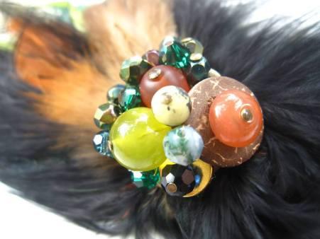 Gemstones Coconut and Swarovski - Nina Spade