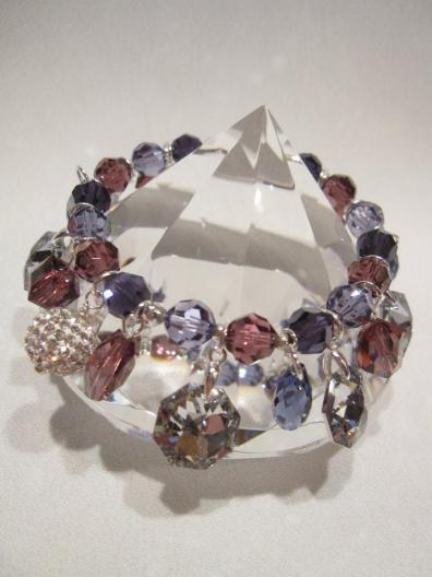 Genuine Swarovski Stretch Bracelet - Nina Spade