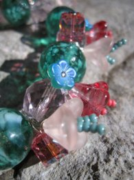 Glass and Crystal Floral - Nina Spade