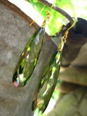 Green Cubic Zirconia - Nina Spade