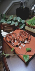 Hamsa and Rosegold Bracelets