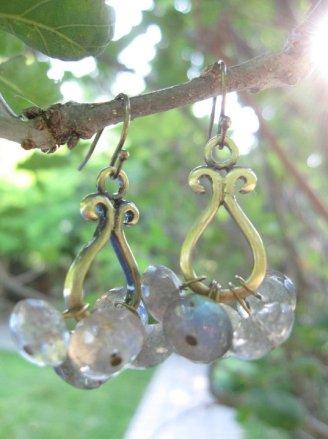 Labradorite and Brass - Nina Spade