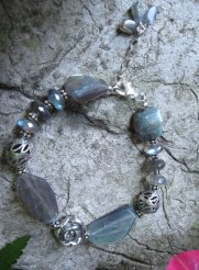 Labradorite Sterling Silver - Nina Spade