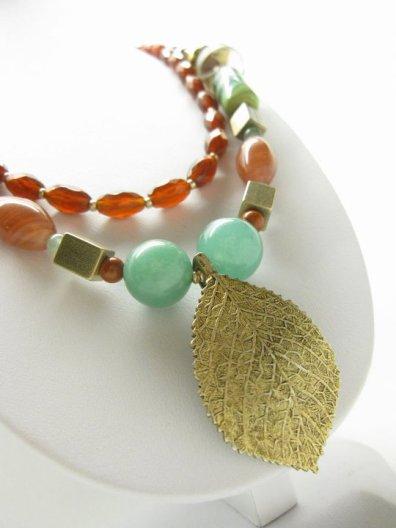 Reworked Retro Necklace - Nina Spade