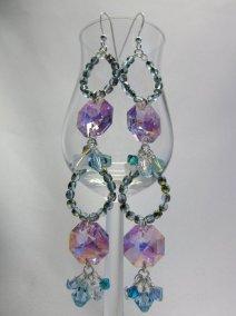 Swarovski and Czech Glass Earrings - Nina Spade