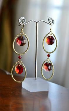 Swarovski and Seed Beads - Nina Spade