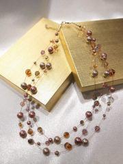 Swarovski Crystal and Pearls - Nina Spade