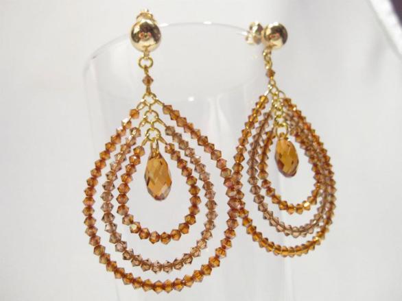 Swarovski Earrings - Nina Spade