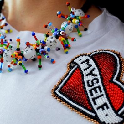 Japanese Parts Club Star Spray Necklace